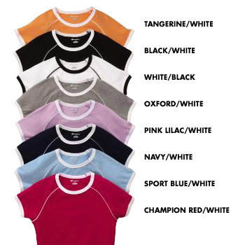 4761 Champion Ladies  Ringer Tee