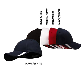 5006 Yupoong Six Panel Low Profile Sweep Twill Flexfit Cap