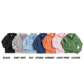 HY203 Ladies French Terry Hoodie