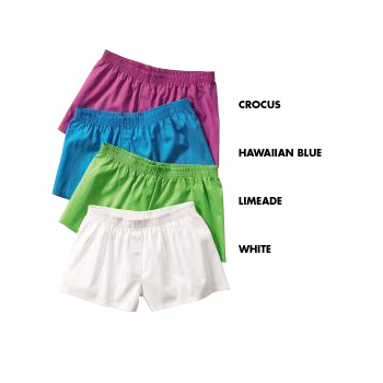HY402 Ladies Woven Boxer Shorts by HYP