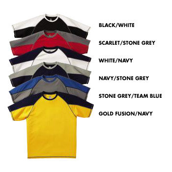 T2066 Champion Performance Double Dry® Polyester Colorblock Tee