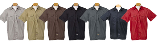 1574-Dickies-Short-Sleeve-Workshirt-Colors