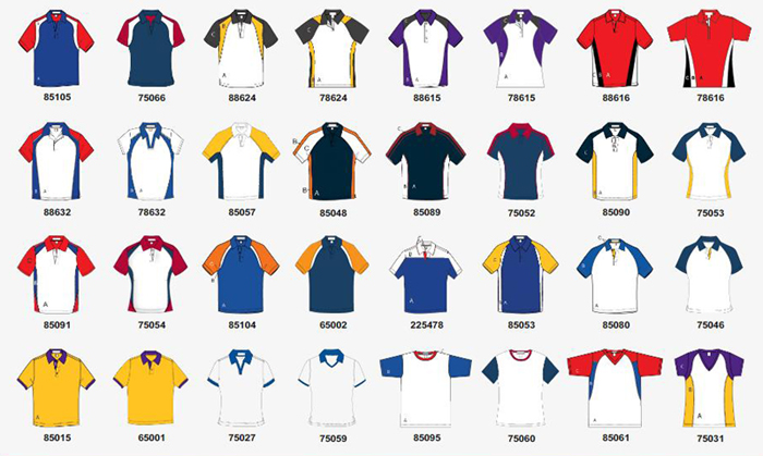 Custom Racing Polo Shirt Program Domestic 3 Weeks