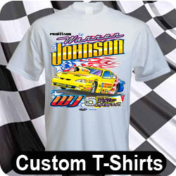Custom racing apparel pit crew shirts jackets caps and for Racing t shirts custom