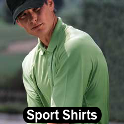 Embroidered Sport Shirts - Golf Shirts - Moisture Management Polos