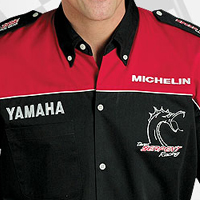 Custom embroidered racing pit crew shirts for Custom embroidered polo shirts no minimum order
