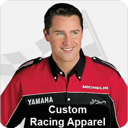 Custom Racing Apparel, Racing Pit Crew Shirts, Race Team Crew Uniforms