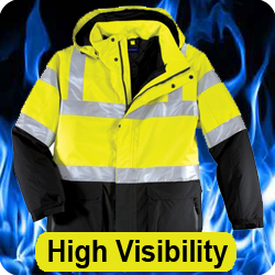 High Visibility Jackets - Safety Jackets - High Vis Jackets, Shirts, Vests, Caps